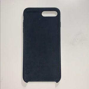 Apple black Iphone 8 plus case
